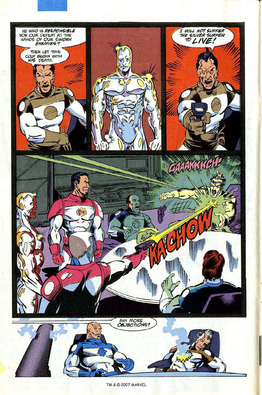 Read online Silver Surfer (1987) comic -  Issue #53 - 10