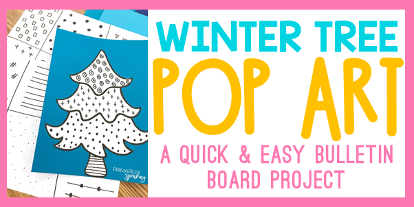 winter bulletin board idea