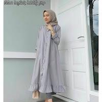 Jual Baju Atasan Muslim Wanita Velove Tunik
