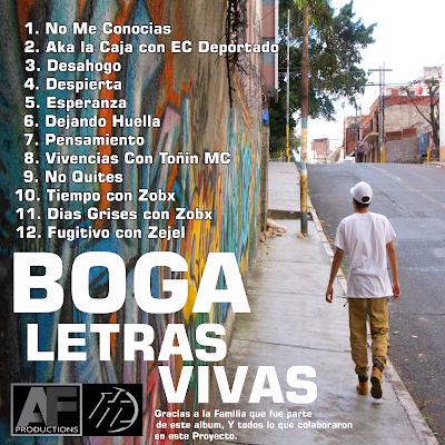 Boga - Letras Vivas