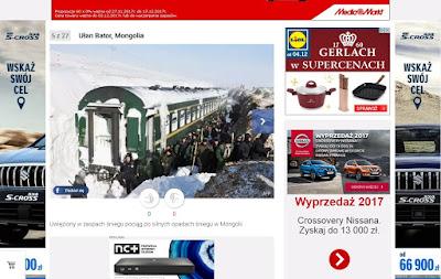 Zasypane wagony, Chiny - Mongolia Wewnętrzna