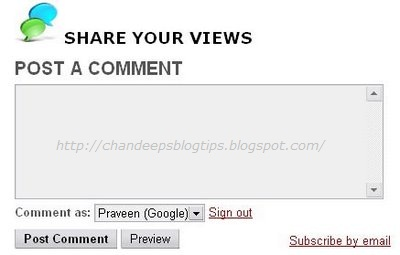How To Add Embed Comment Box Below Blogger Posts