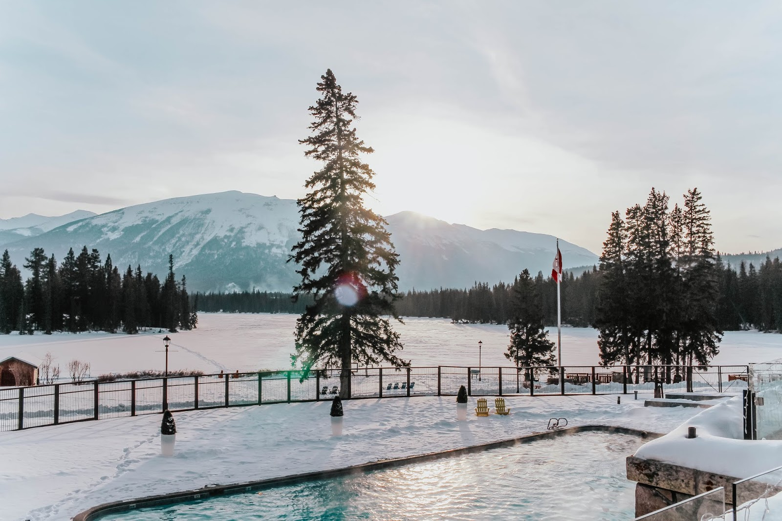 fairmont jasper park lodge, alberta, canada