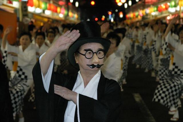 Gokuro Matsuri (fancy costume parade), Yoshinogawa City, Tokushima