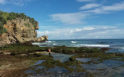 Keindahan Pantai ngobaran