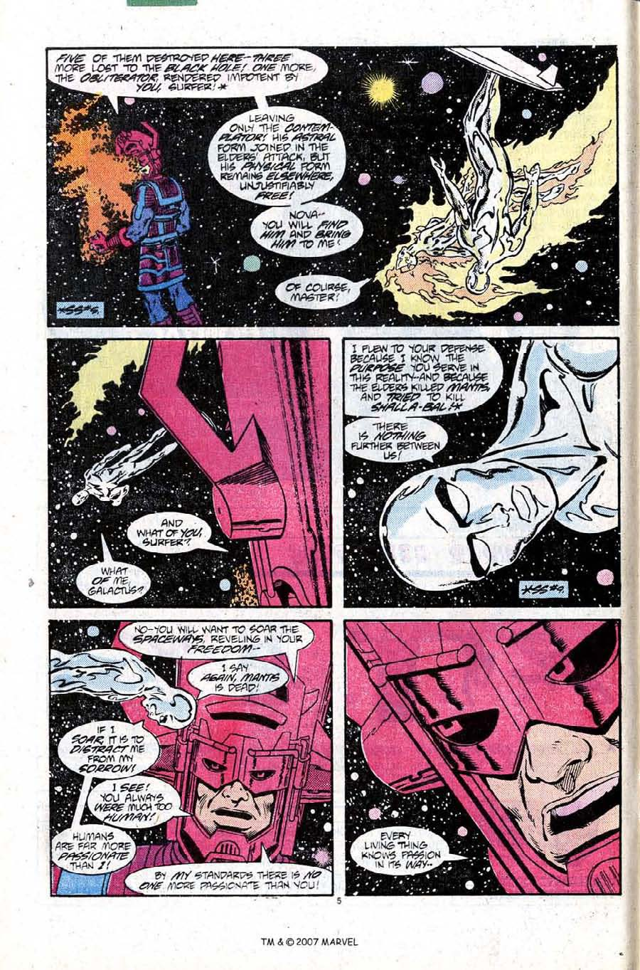 Read online Silver Surfer (1987) comic -  Issue #10 - 8