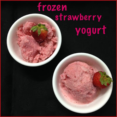 Frozen Strawberry Yogurt