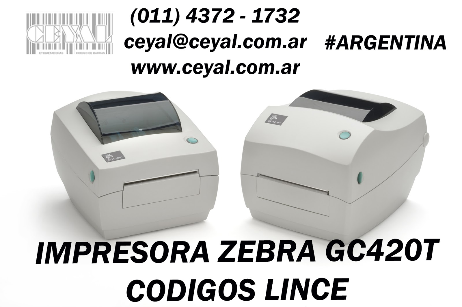 Impresora codigo de barra Mendoza