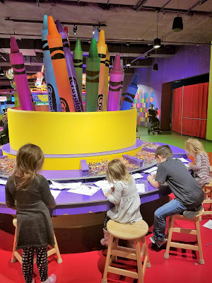 Twin Cities Family Weekend Getaway - Mall of America, Crayola Experience