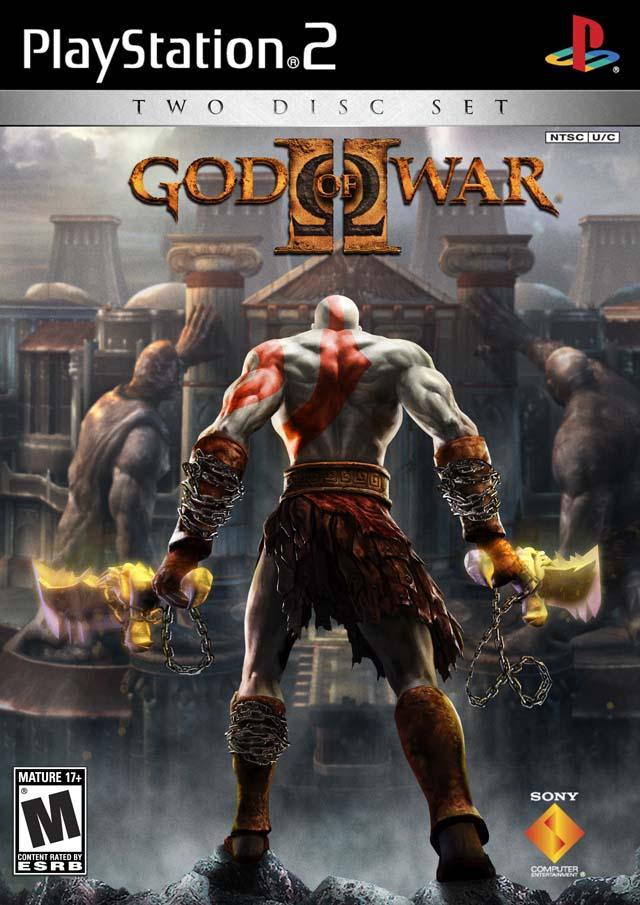 21236 God of War II front ps2 122 588lo - God of War II PS2 DVD5 NTSC-U