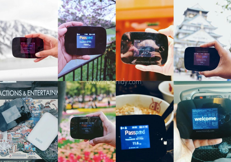 review pemakaian wifi passpod.id 11 hari di jepang