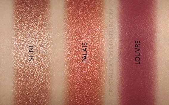 Viseart Golden Hour Eyeshadow Palette Swatches Review