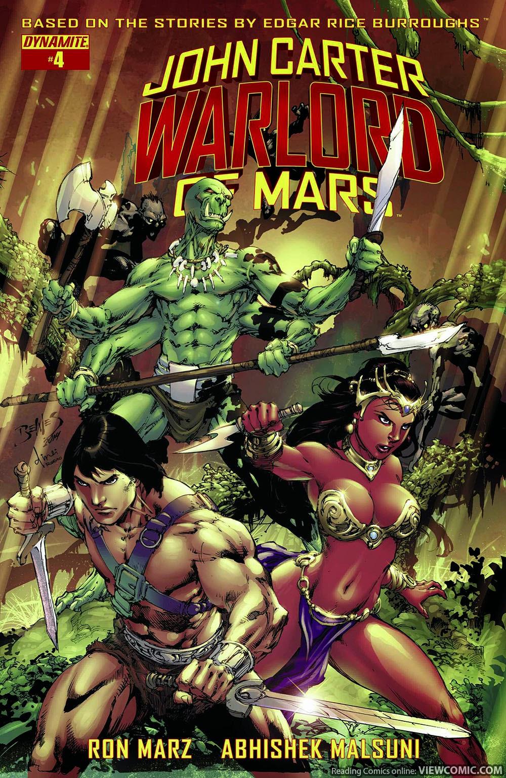 John Carter Warlord Of Mars | Viewcomic reading comics