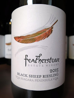 Featherstone Black Sheep Riesling 2015 - VQA Niagara Peninsula, Ontario, Canada (88 pts)