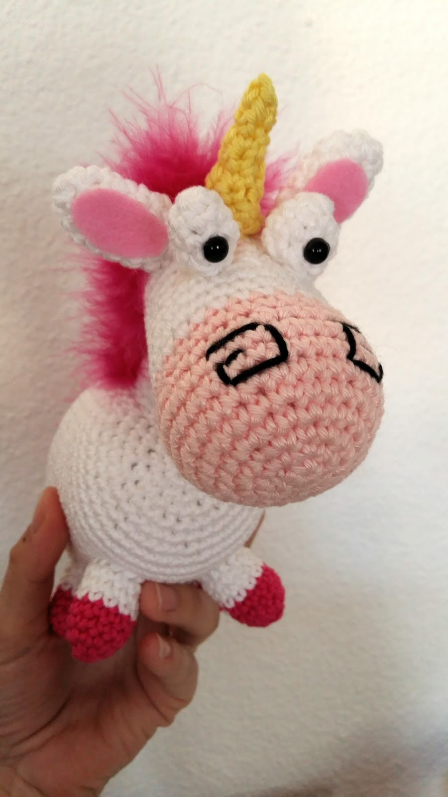 Très Fée du tricot: La licorne de la petite Agnès au crochet *tuto inside* VN75