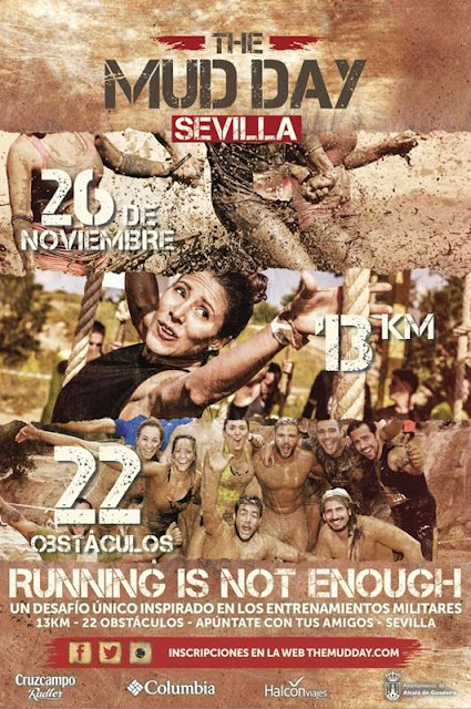 The Mud Day Sevilla 2016 en Alcalá de Guadaíra