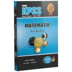 Yaklaşım Kariyer KPSS Matematik Konu Anlatımlı (2016)