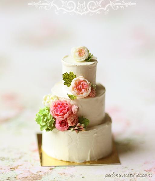 Summer Wedding Food: Dollhouse Miniatures, Miniature Food Jewelry, Craft