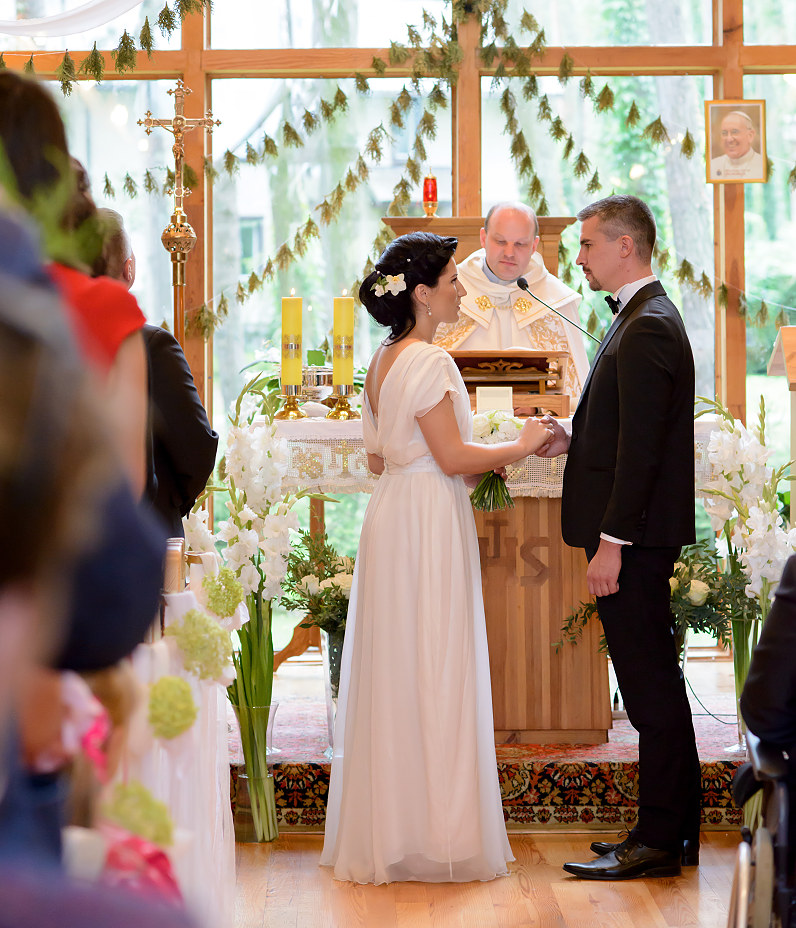 vestuvės Kačerginės šv. Onos koplyčioje