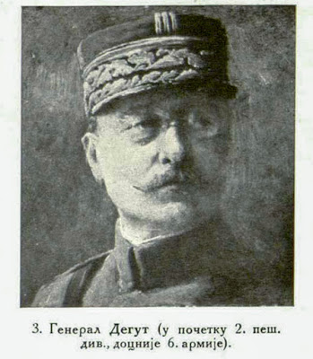 General Degoutte (first 2nd infantry division, later 6th Army).