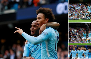 Video Gol Manchester City vs Crystal Palace 5-0
