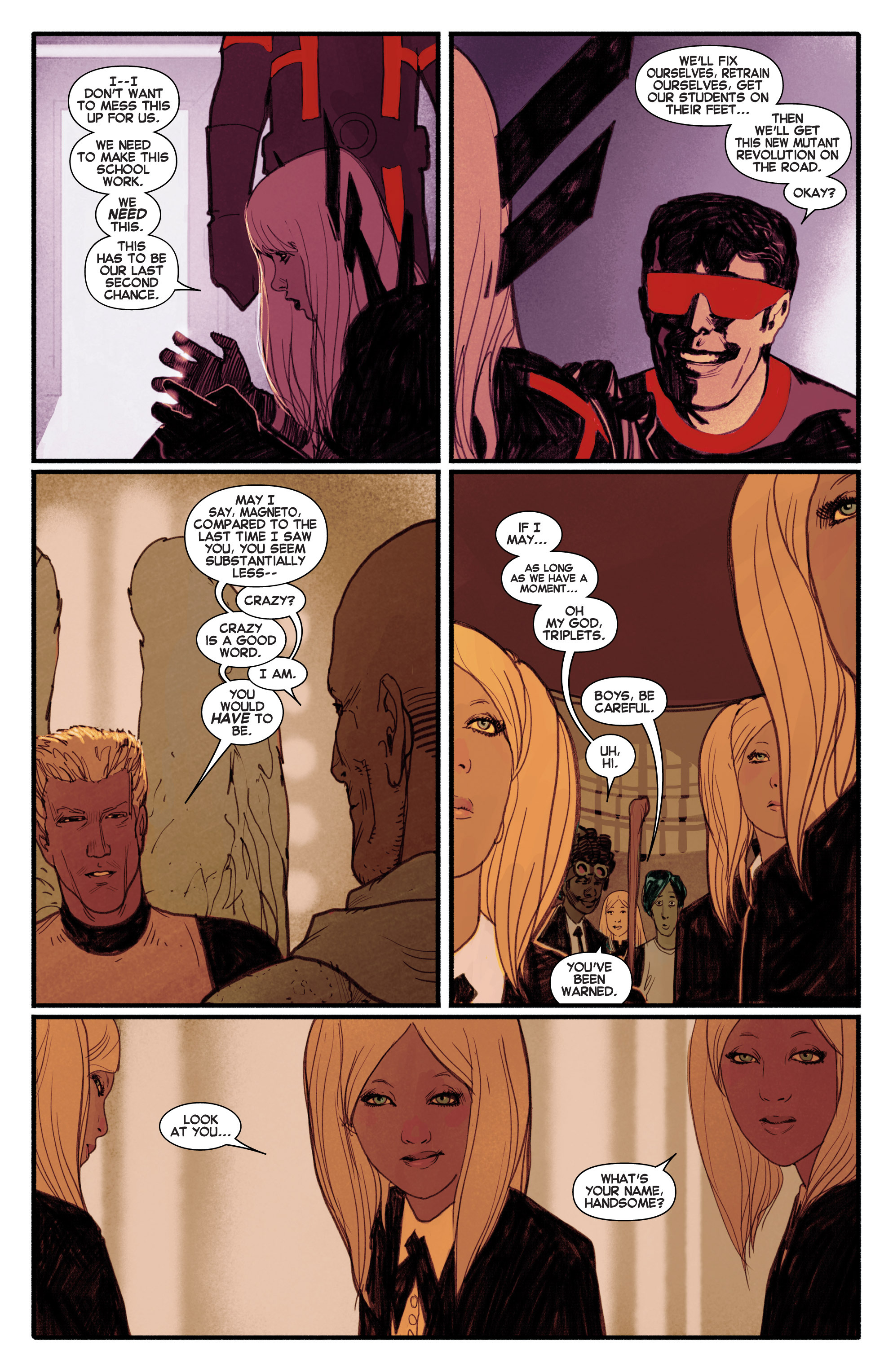 Read online Uncanny X-Men (2013) comic -  Issue # _TPB 1 - Revolution - 101