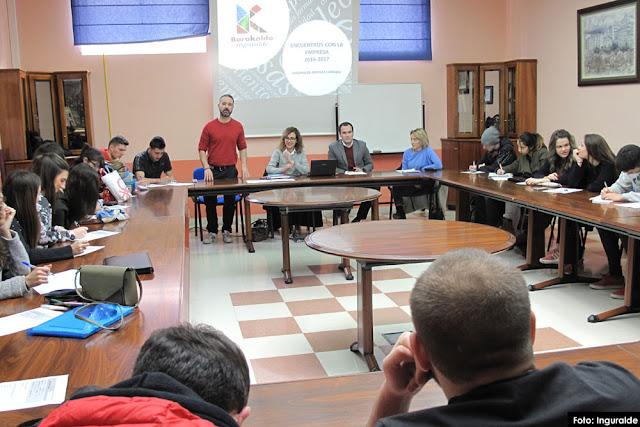 Jornada de Inguralde con estudiantes de FP