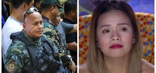 """Sen. Dela Rosa to DJ Chacha who calls him 'tuta': """"Baka Chacha lang ang alam niyan?""""   Pinoy Trending"""