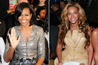 michelle and beyonce in the illuminati