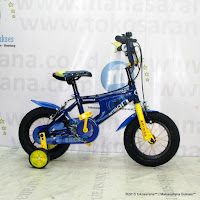 Sepeda Anak Wimcycle BMX Batman 12 Inci