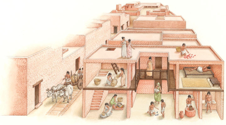 Ancient Indus Valley Worksheet