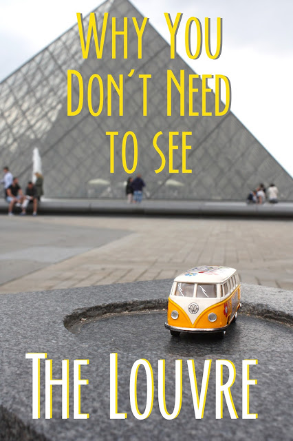 Pinterest image: Why you don't need to see the Louvre