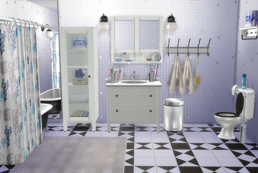 My Sims 4 Blog Ikea Bathroom Set And Clutter By Natatanec