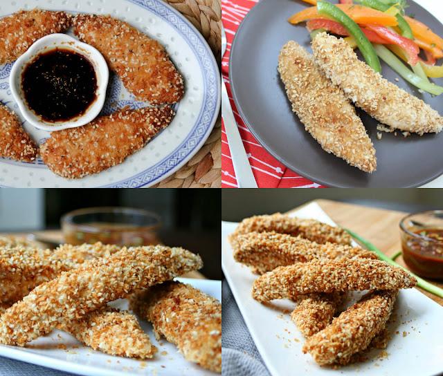 أحلى وأسهل طريقة لعمل أصابع الدجاج المقرمشة بالسمسم في المنزل!