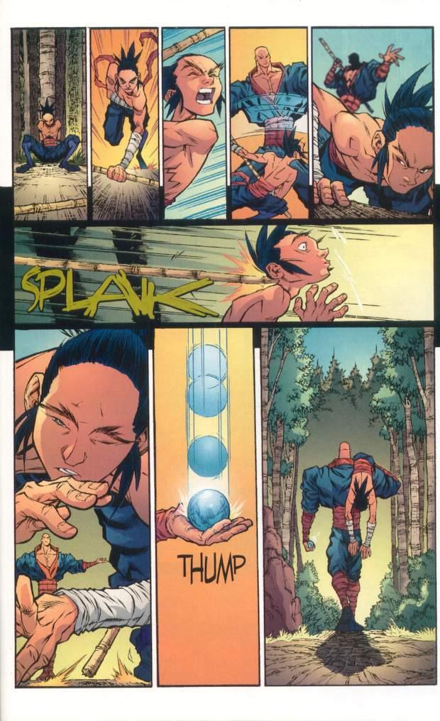 Read online Ninja Boy comic -  Issue #1 - 20