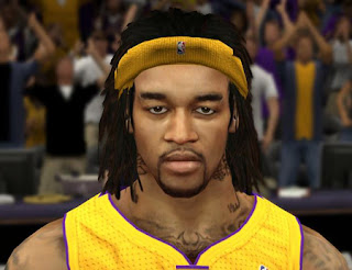 NBA 2K13 Jordan Hill Cyberface Patch Mod