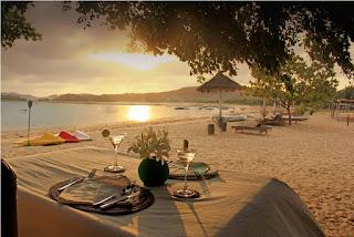 sunset di Pantai Bumbang