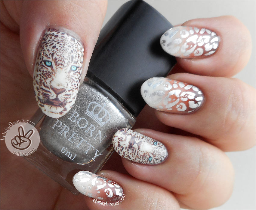 Silver 6ml Born Pretty Stamping Polish Born Pretty Store