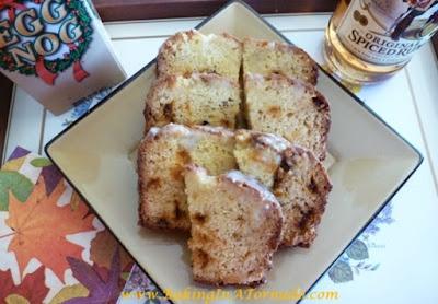 Eggnog Bread | www.BakingInATornado.com | #recipe