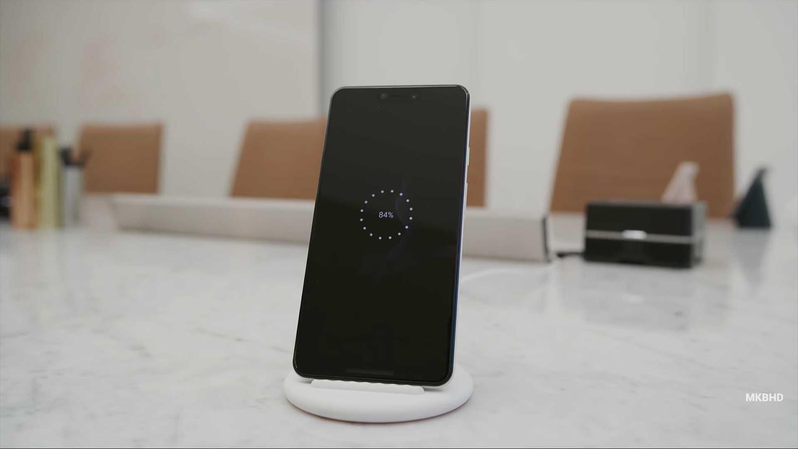 Google Pixel 3 XL Wireless Charging