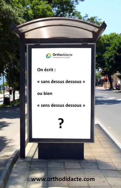 Sens Dessus De Sou Definition : dessus, definition, Dessus, Dessous, Orthodidacte