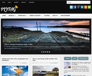 Plytag 2 Column Blogger Template