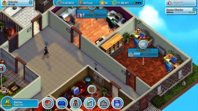 Mad Games Tycoon PC Games Gameplay