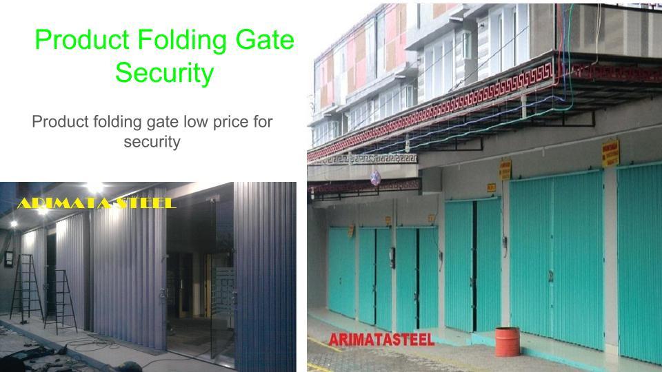 Harga Pintu Folding Gate Bogor
