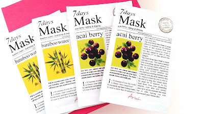 Ariul 7Days Mask - Bamboo Water and Acai Berry