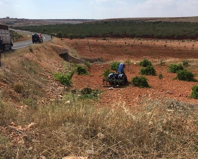 Halfeti'de traktör kazası: 1 ölü