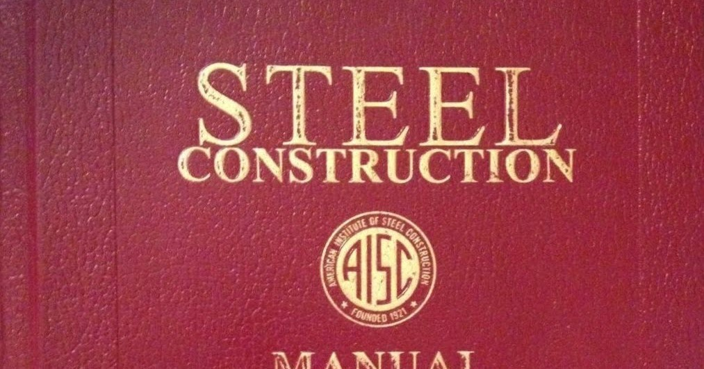 Steel Construction Manual 14th Edition Pdf Project Estimation Excel
