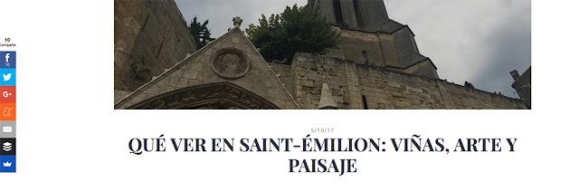 Artículo sobre Saint-Emilion