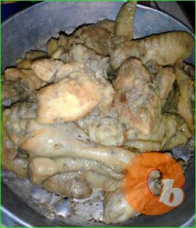Ayam rica rica ala Dapur Nurul