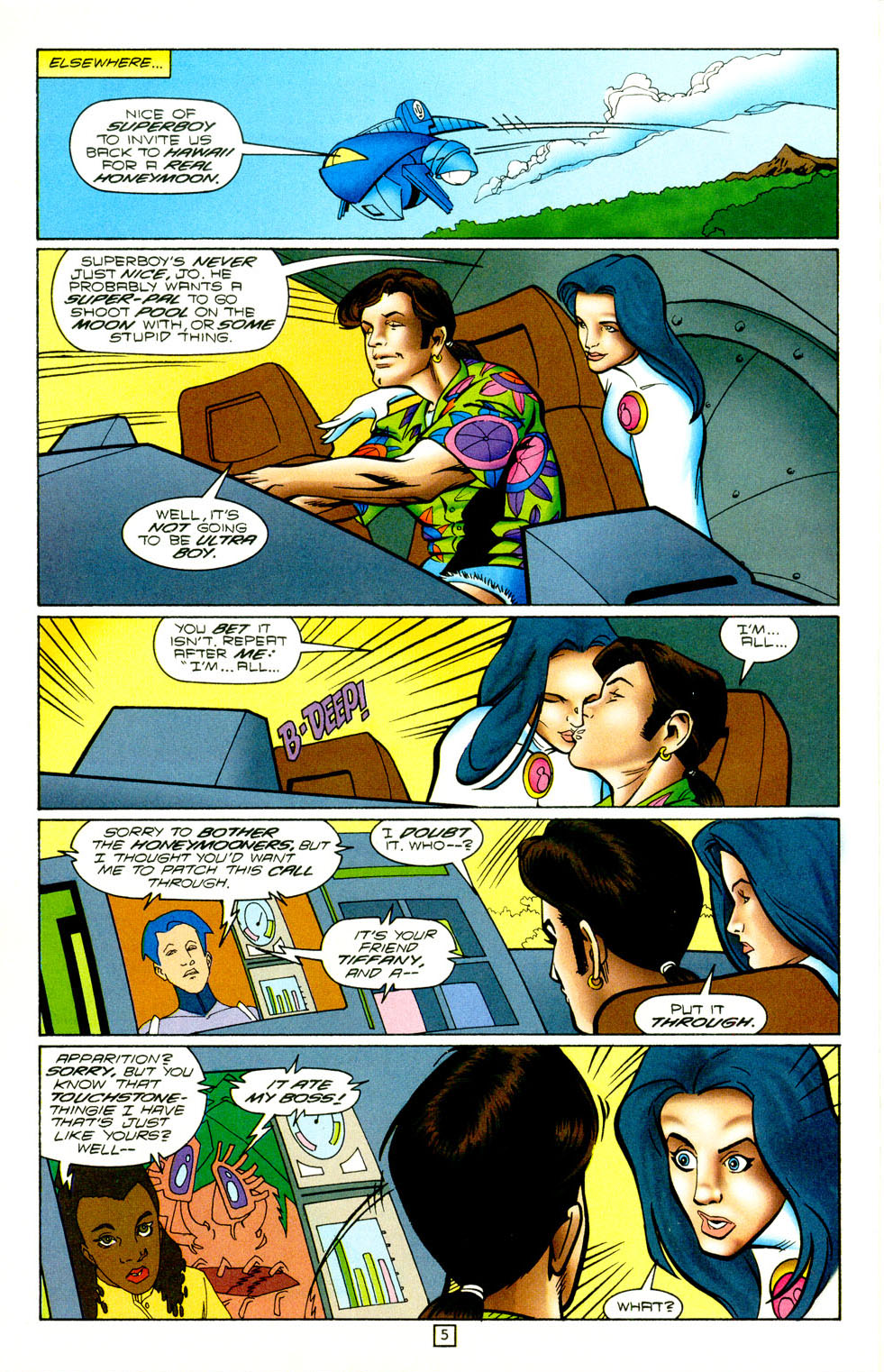 Legion of Super-Heroes (1989) 98 Page 5
